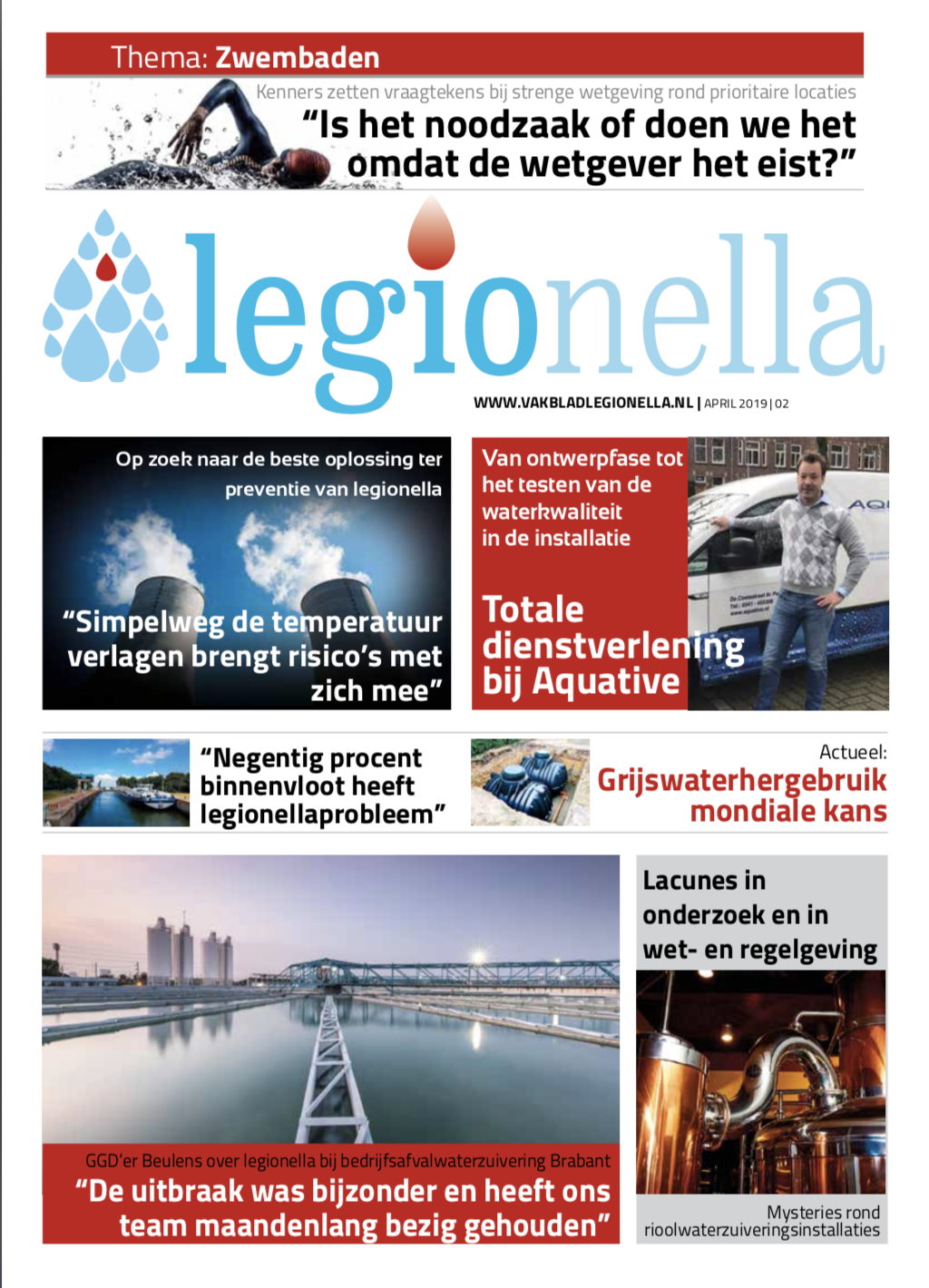 Vakblad Legionella Editie 2 - 2019